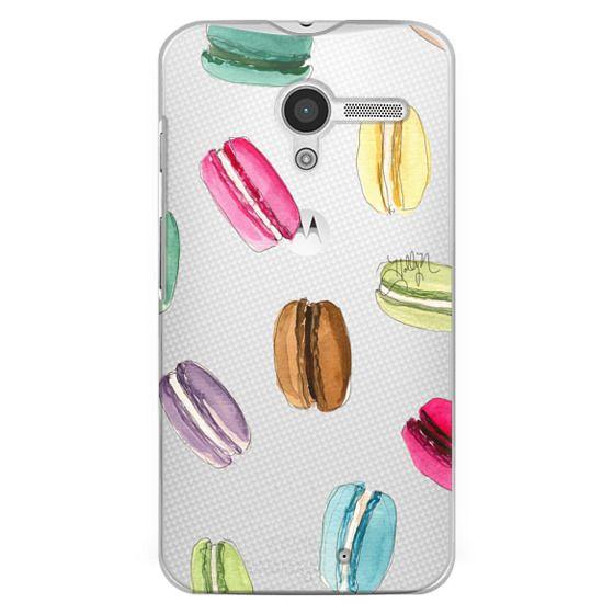 Moto X Cases - Macaron Shuffle (Transparent)