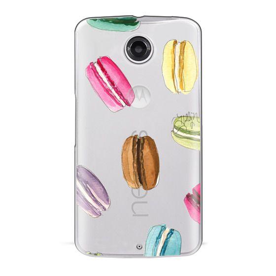 Nexus 6 Cases - Macaron Shuffle (Transparent)