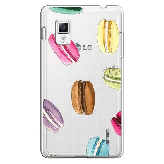 Optimus G Cases - Macaron Shuffle (Transparent)