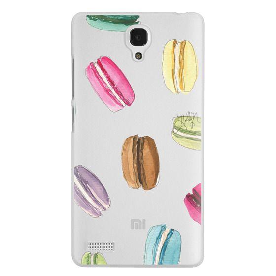 Redmi Note Cases - Macaron Shuffle (Transparent)