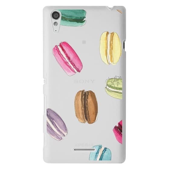 Sony T3 Cases - Macaron Shuffle (Transparent)