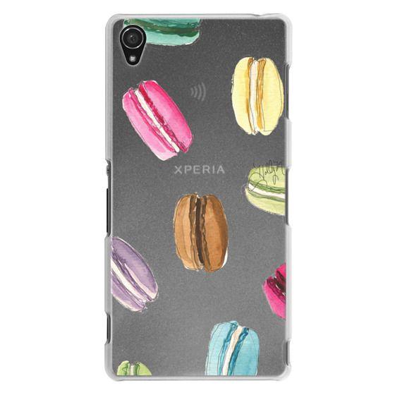 Sony Z3 Cases - Macaron Shuffle (Transparent)