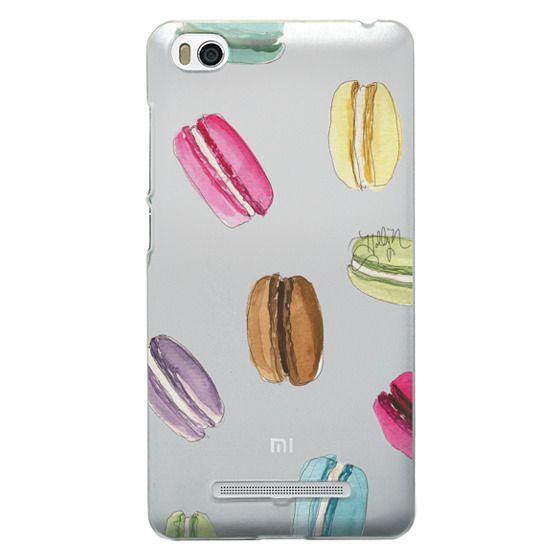 Xiaomi 4i Cases - Macaron Shuffle (Transparent)