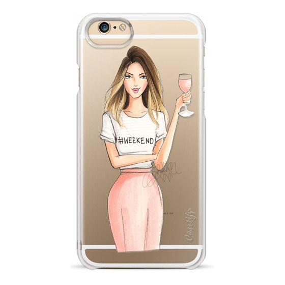 iPhone 6 Cases - Royal Rosé (Transparent)
