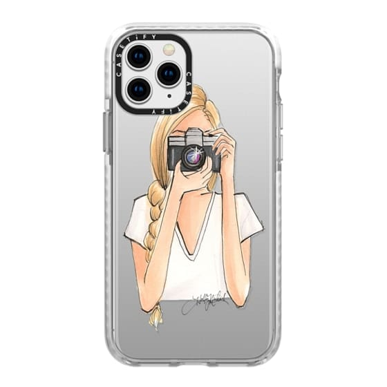 iPhone 11 Pro Cases - ISO (Camera Girl, Transparent Case)