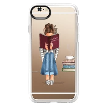 Grip iPhone 6 Case - The Fine Art of Staying In (Transparent)