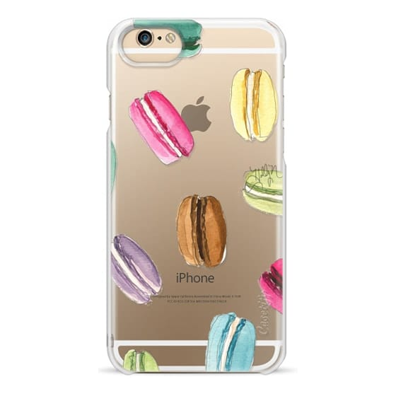 iPhone 6 Cases - Macaron Shuffle (Transparent)