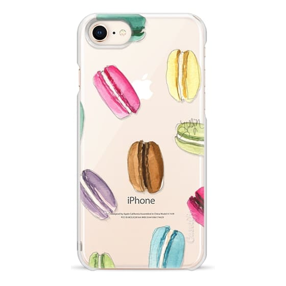 iPhone 8 Cases - Macaron Shuffle (Transparent)