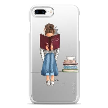 Snap iPhone 7 Plus Case - The Fine Art of Staying In (Transparent)