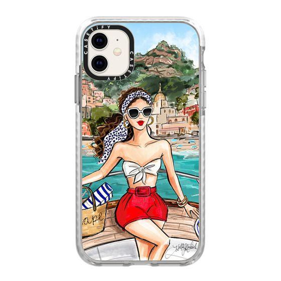 iPhone 11 Cases - Holly Nichols Collection, Amalfi Coast Vacation, Dalmatian Print