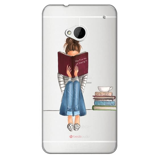 Htc One Cases - The Fine Art of Staying In (Transparent)