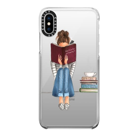 iPhone X Cases - The Fine Art of Staying In (Transparent)