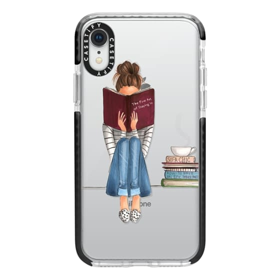iPhone XR Cases - The Fine Art of Staying In (Transparent)