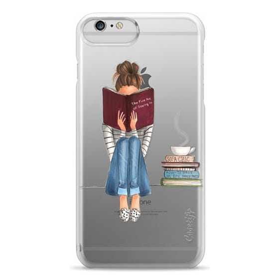 iPhone 6 Plus Cases - The Fine Art of Staying In (Transparent)
