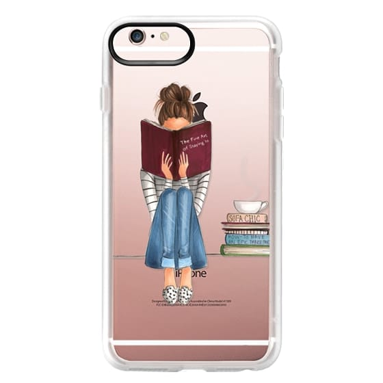 iPhone 6s Plus Cases - The Fine Art of Staying In (Transparent)