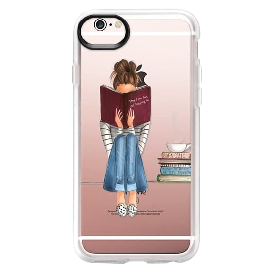 iPhone 6s Cases - The Fine Art of Staying In (Transparent)