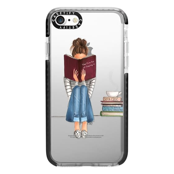 iPhone 7 Cases - The Fine Art of Staying In (Transparent)