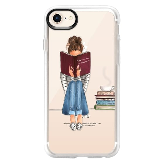 iPhone 8 Cases - The Fine Art of Staying In (Transparent)