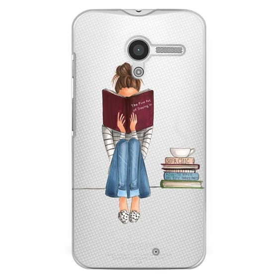 Moto X Cases - The Fine Art of Staying In (Transparent)