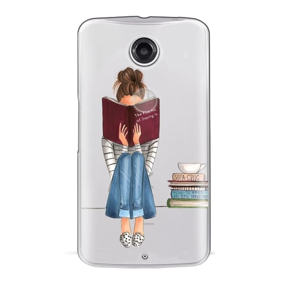 Nexus 6 Cases - The Fine Art of Staying In (Transparent)