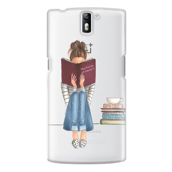One Plus One Cases - The Fine Art of Staying In (Transparent)