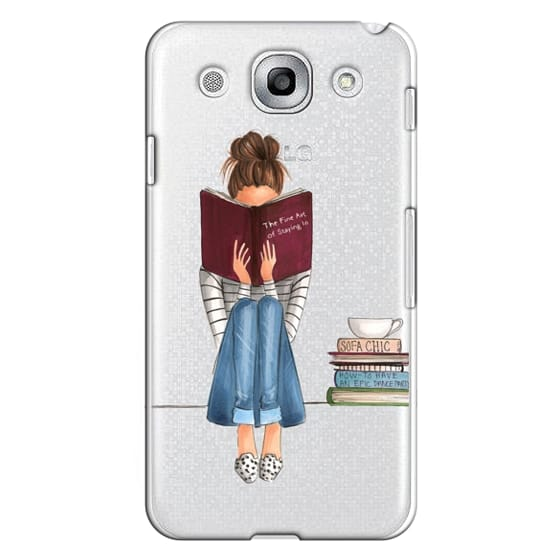 Optimus G Pro Cases - The Fine Art of Staying In (Transparent)