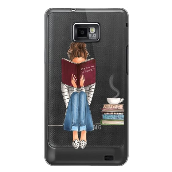 Samsung Galaxy S2 Cases - The Fine Art of Staying In (Transparent)