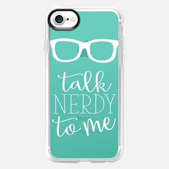 Talk Nerdy To Me - Wallet Case
