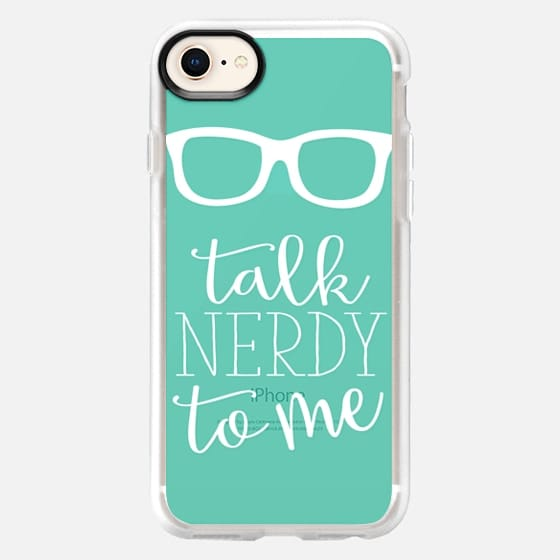 Talk Nerdy To Me - Snap Case