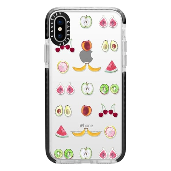 iPhone X Cases - Fruit Mirror