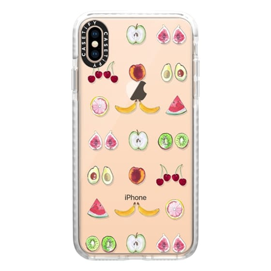 iPhone XS Max Cases - Fruit Mirror
