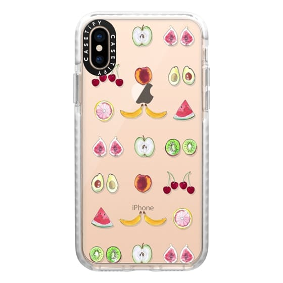 iPhone XS Cases - Fruit Mirror