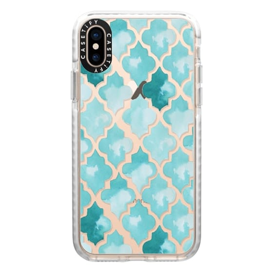 iPhone XS Cases - Moroccan tiles