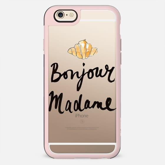 Bonjour Madame - French Style - New Standard Case