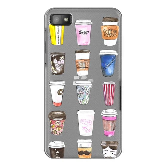 Blackberry Z10 Cases - Coffee Time