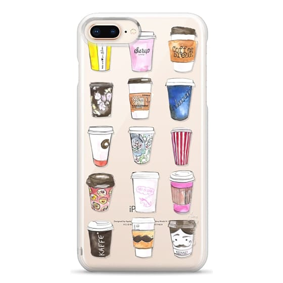 iPhone 8 Plus Cases - Coffee Time