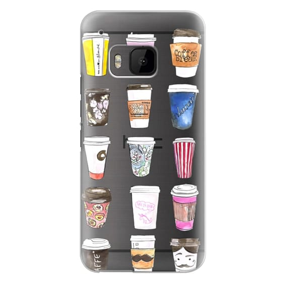 Htc One M9 Cases - Coffee Time