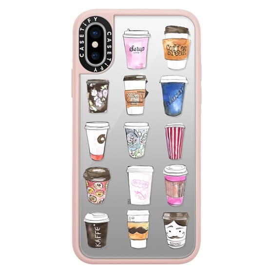iPhone X Cases - Coffee Time