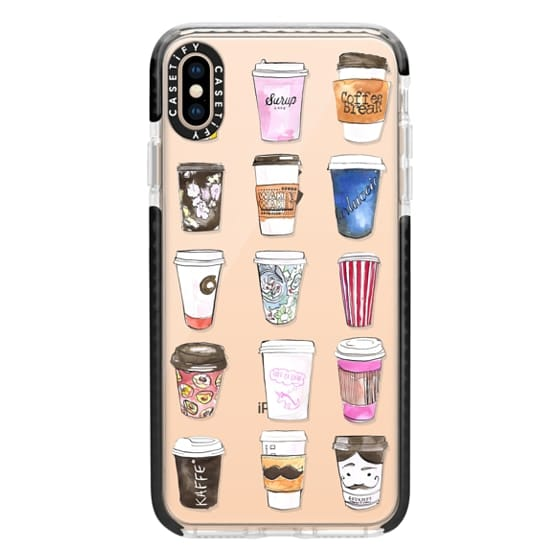 iPhone XS Max Cases - Coffee Time