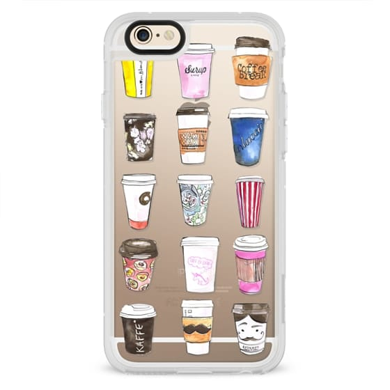 iPhone 6 Cases - Coffee Time