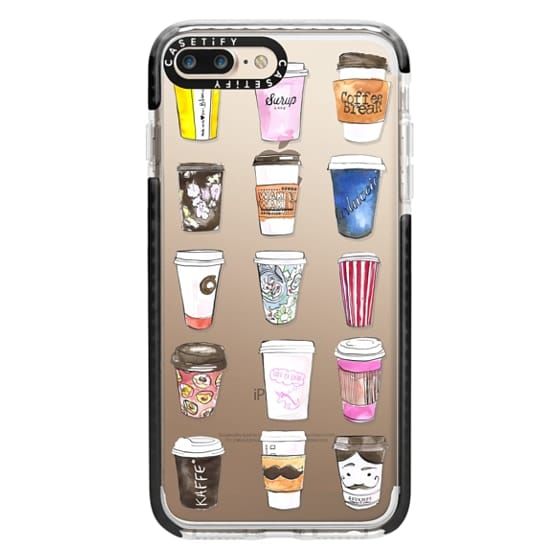 iPhone 7 Plus Cases - Coffee Time