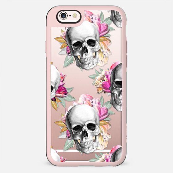 Skull and Flowers - New Standard Case