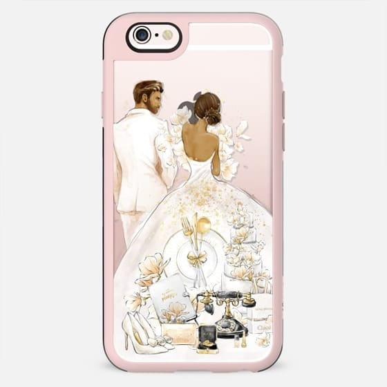 Wedding Day - Dark Skin Bride & Groom - New Standard Case