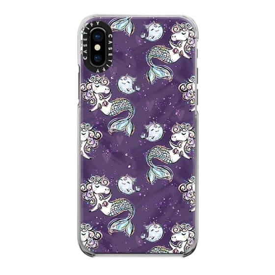 iPhone 6s Cases - Unicorn Mermaids and Narwhales Pattern | I Don't Believe in Humans Collection