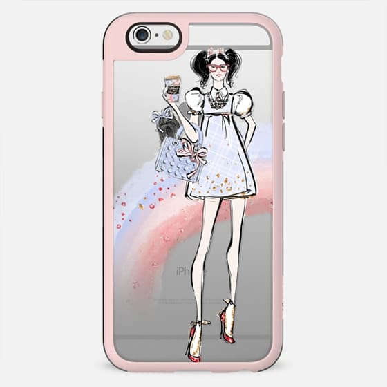 Over the Rainbow #3 - Dorothy - Transparent Rainbow Case - New Standard Case