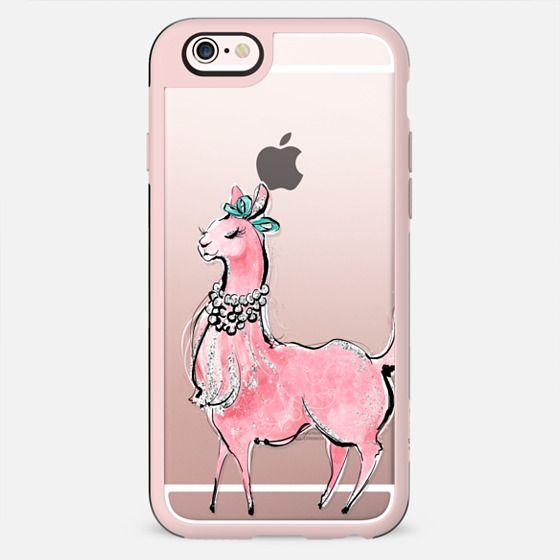 Llama Love #11 | Fashion Llama Girl - New Standard Case