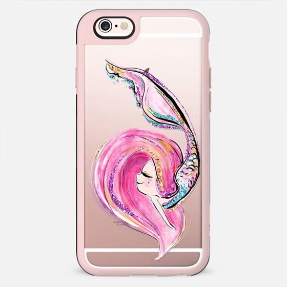 Pink Mermaid | Transparent Case - New Standard Case