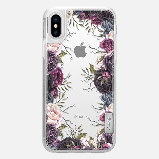 iPhone X 保護殼 - My Secret Garden