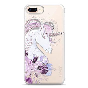 Snap iPhone 8 Plus Case - Dreaming Unicorn