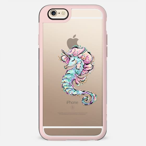 Sea Unicorn | Seahorse Transparent Case - New Standard Case